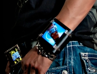 Video Wrist Band (OLED Display)