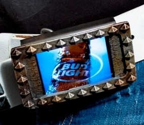 Video Belt Buckle (OLED Display)